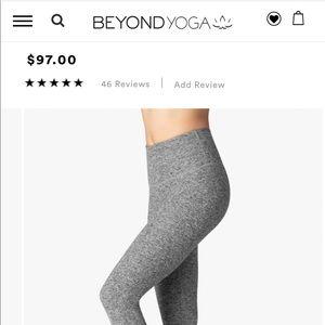Beyond Yoga Pants - Heather Grey beyond yoga leggings